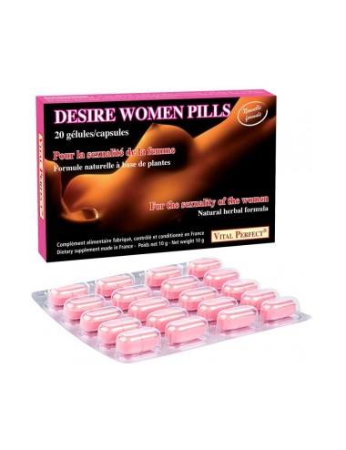 Desire women pills - 20 gelules