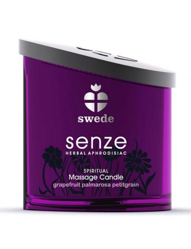 Bougie de massage Spiritual Senze Swede Pamplemousse - 150 ml