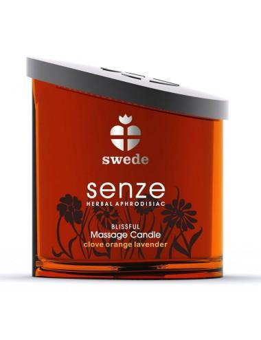 Bougie de massage Blissful Senze Swede Orange Lavande - 150 ml