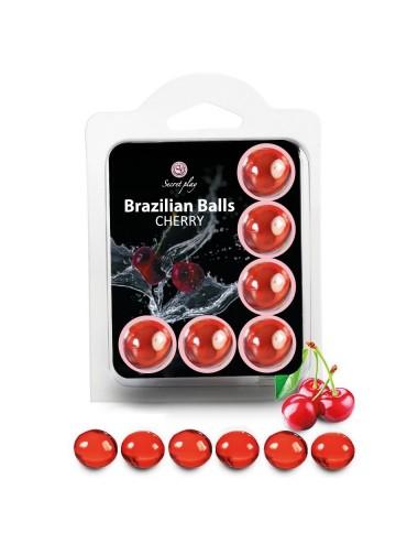 Boules Brésiliennes Saveur Cerise X6