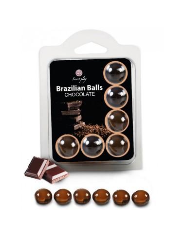 Boules Brésiliennes Saveur Chocolat X6