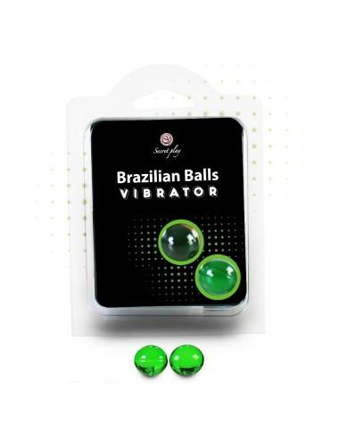 Boules Bresiliennes Vibrator Nature X2