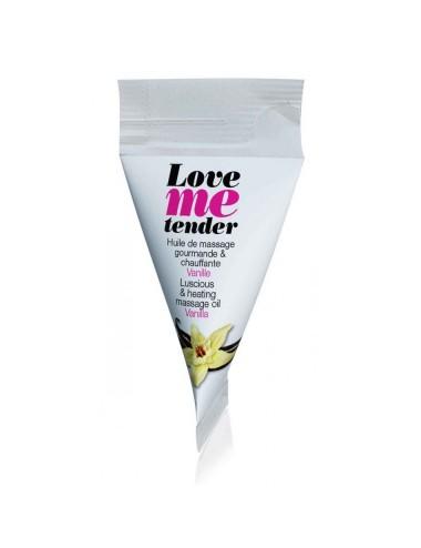 Berlingot d'huile de massage saveur Vanille - 10 ml