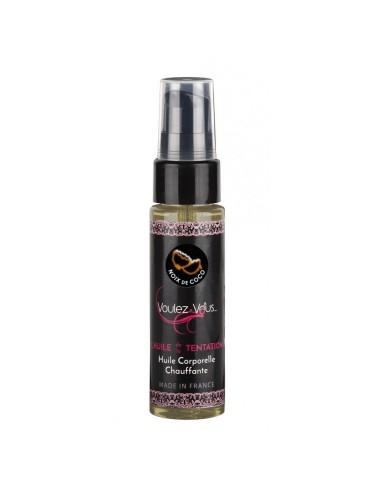 Huile de la Tentation Saveur Noix de Coco - 35 ml