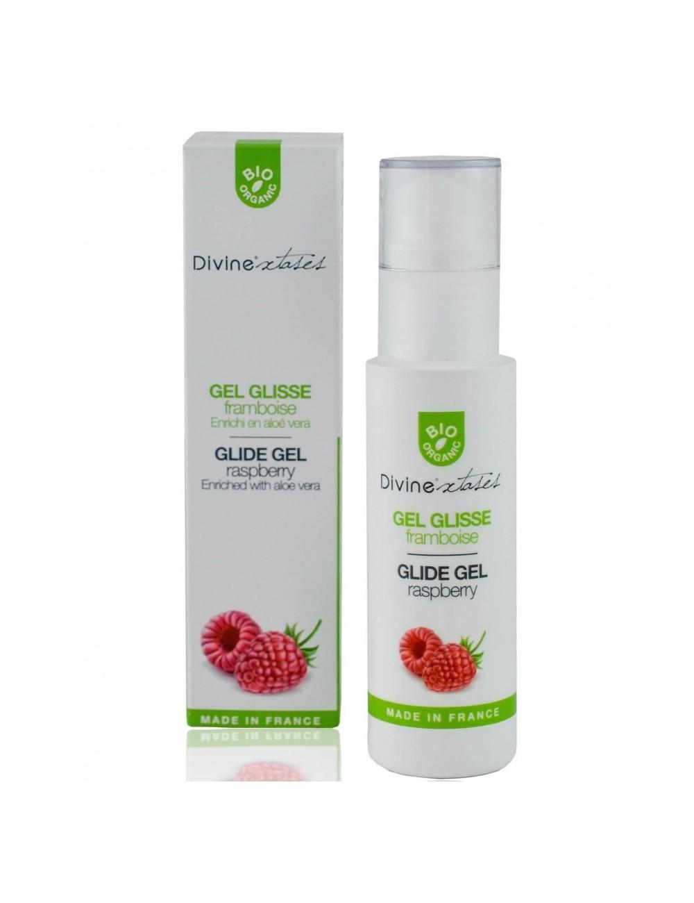 Gel Glisse Bio Framboise - 100 ml