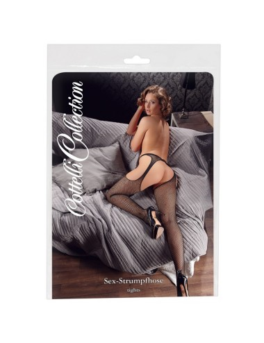 Collants ouverts resille S-M