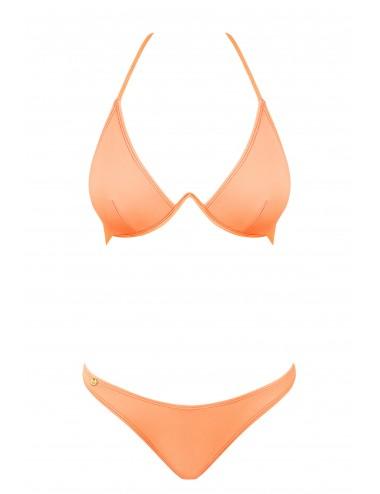 Lingerie - Maillots de bain et tenues de plage - Maillot de bain bikini 2 pcs - Paralia - Corail - Obsessive