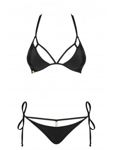 Lingerie - Maillots de bain et tenues de plage - Maillot de bain 2 pcs - Costarica - Noir - Obsessive