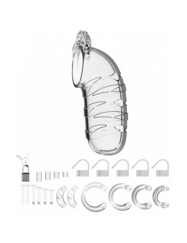 Cage de Chastete Transparente N°5