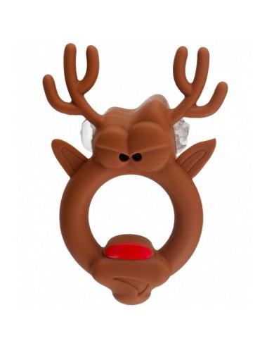 Anneau vibrant Rudolph en Silicone