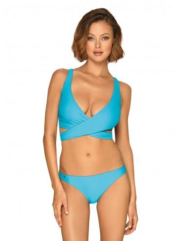 Lingerie - Maillots de bain et tenues de plage - Maillot de bain 2 pcs Cobaltica - Bleu - Obsessive