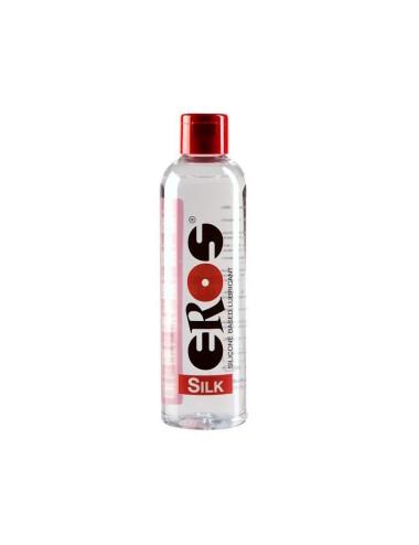 Lubrifiant à Base de Silicone Eros Silk - 250 ml
