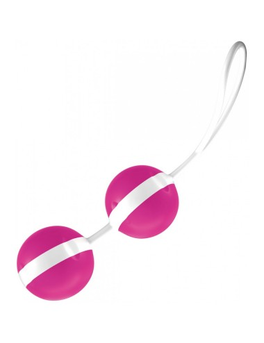 Boules Joyballs Trend Rose-Blanc