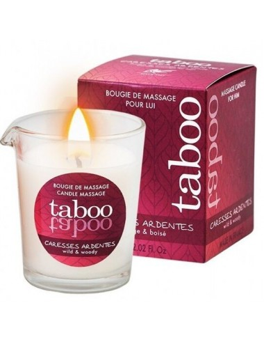 Tabou bougie massage homme...
