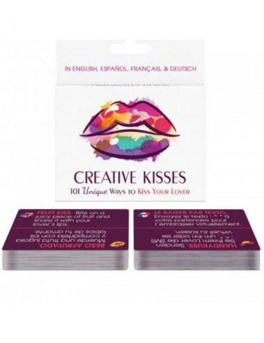 Sextoys - Jeux coquins - KHEPER GAMES CREATIVE KISSES ES / FR / DE / EN -