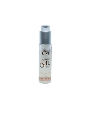 Huile de massage 100% naturelle noix de coco 50ml - SEZ076