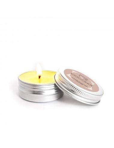 Mini Bougie de massage Noix de coco 30ml - SEZ077