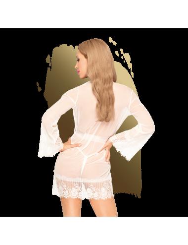 Hypnotic power Peignoir - Blanc